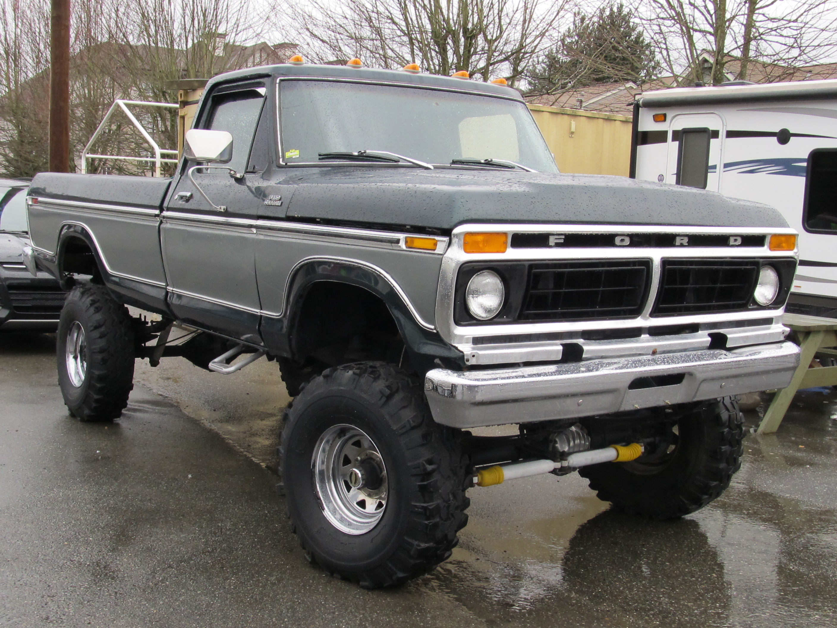 1980 ford 4x4 truck for sale in ca autos post. Black Bedroom Furniture Sets. Home Design Ideas